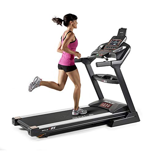 Sole Fitness Tapis Roulant F85-20 Bluetooth 4.0/7.0 HP 22km/h 585x1525 App Ready (Modello 2020)