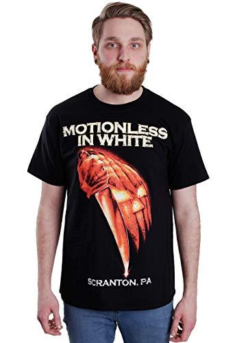 Motionless In White Scranton Hommes T-shirt Noir officiel Licensed Music