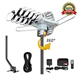Best Digital TV Antennas - HDTV Antenna Digital Amplified Outdoor Antenna with Mounting Review
