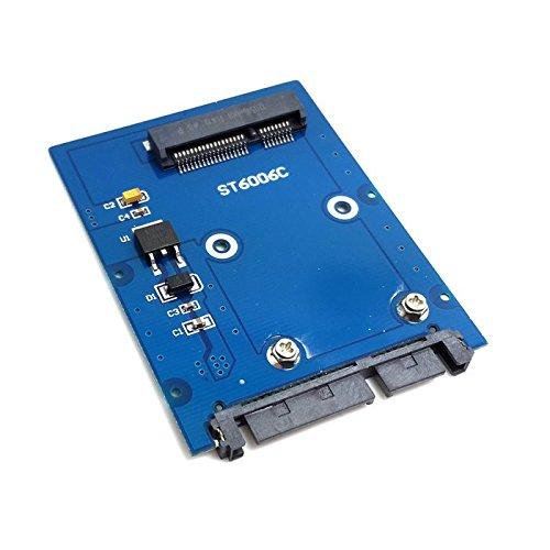 ChenYang schlanker Mini-PCI-E mSATA-SSD auf 6,35 cm SATA 3.0 22-poliger HDD-Adapter Festplatte PCBA