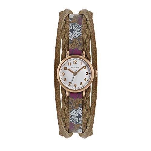 Kahuna da donna floreale strap orologio