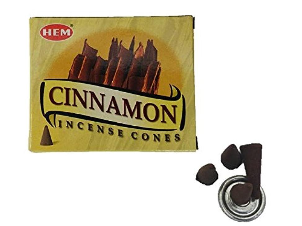 利得いつ効果的にHEM(ヘム)お香 シナモン コーン 1箱