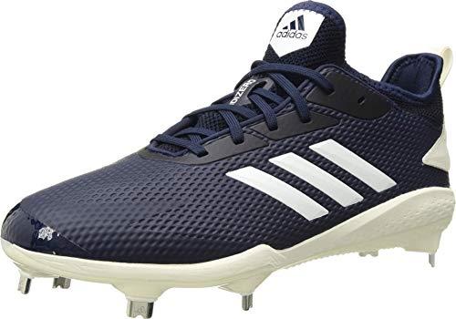 adidas Men's Adizero Afterburner V Baseball Shoe, Collegiate Navy Cloud White Black, 7.5 UK