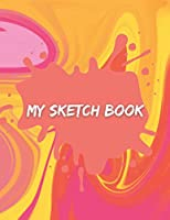 Sketch Book: Sketch book notebook for drawing, writing, painting, sketching. Marble Background Cover Sketchbook Blank Paper Drawing and Write Journal (120 pages 8.5x11in). Notebook for Drawing, Writing, Painting, Sketching or Doodling. Blank Drawing Book