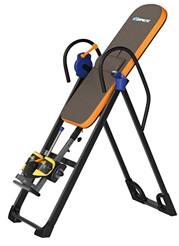 Product Image 9: Exerpeutic 975SL All Inclusive Heavy Duty 350 lbs Capacity Inversion Table with Air Soft Ankle Cushions, Surelock and iControl Systems