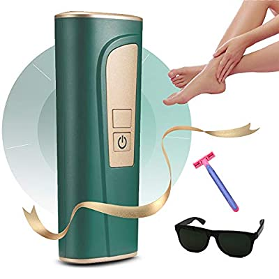 IPL Hair Removal, Laser Hair Removal Device for Women, Permanent Facial Hair Removal with 999,999 Flashes 5 Light Intensity Settings Hair Removal System
