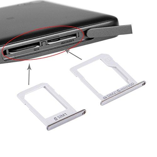 ASAMOAH Pieza de la Tarjeta SIM del reemplazo del teléfono Celular Bandeja de Tarjeta SIM + Bandeja de Tarjeta Micro SD/SIM para Galaxy E5