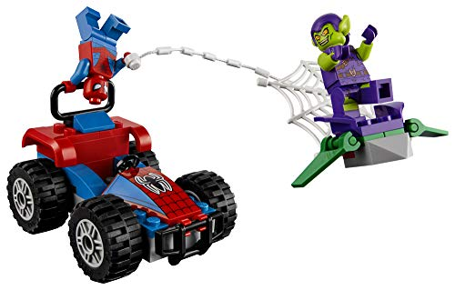 Product Image 8: LEGO Marvel Spider-Man Car Chase 76133 Building Kit, Green Goblin and Spider Man Superhero Car Toy Chase (52 Pieces) (Discontinued by Manufacturer)