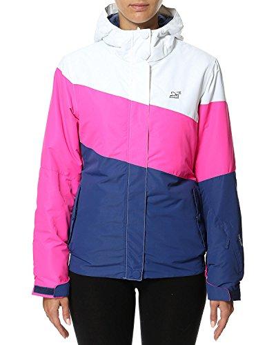 2117 of Sweden Damen Skijacke Womens Jacket Grycksbo, Navy Comb, 42