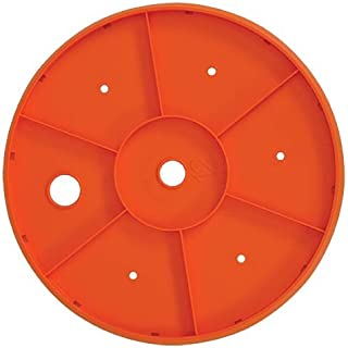 Bloem Ups-A-Daisy Round Planter Insert (Round) - 14 Inches, Orange