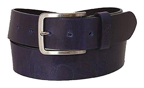 BOSS Cinturón de caballero universal belt leather petrol