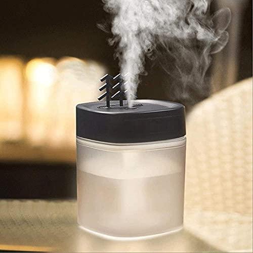 Humidificador de humidificador de niebla fresca Humidificador Pequeño USB Portátil Dormitorio de la casa con la máquina de la máquina de la aromaterapia del estudiante Dormitorio de la noche de l