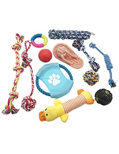 Bestgift tanden reinigen IQ behandelen bal vliegen schijf kauwen speelgoed Set afbeelding kleur 13