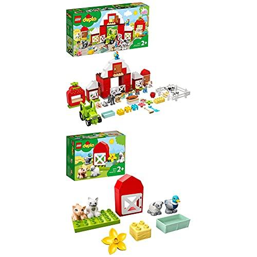 LEGO DUPLO Town Fattoria con Fienile + Animali della Fattoria