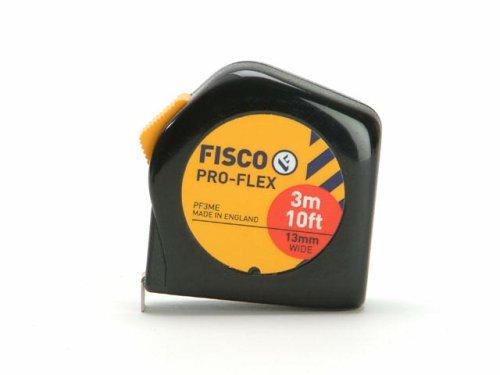 Fisco Pfc3me cardées Pro Flex Mètre à ruban 3 m