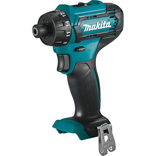 Makita FD10Z 12V max CXT Lithium-Ion Cordless 1/4' Hex Driver-Drill, Tool Only