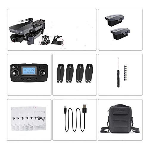 SZMYLED Mini-Drohne, SG907 Pro 5G Wifi-Drohne, 2-Achsen-Gimbal 4k-Kamera Wifi Gps Rc-Drohnen-Spielzeug, Rc Vierachsige professionelle Faltdrohnen 2 Batterie