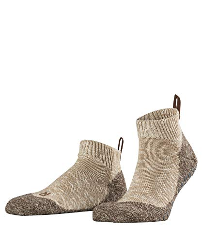 FALKE Herren Lodge Homepad M SN Socken, Beige (Sesame 4390), 45-46 (UK 10-11 Ι US 11-12)