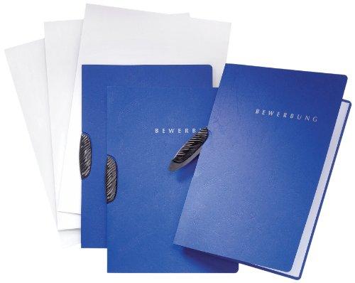 Pagna Bewerbungsset Swing Basic (3 Bewerbungsmappen) blau