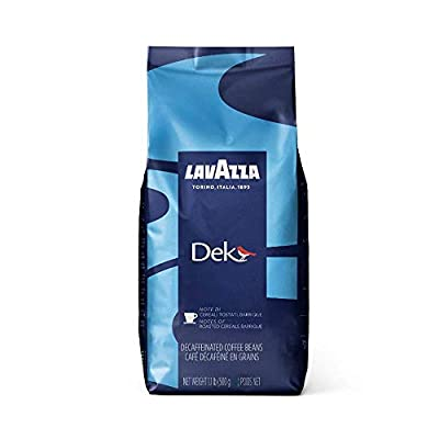Lavazza Dek Decaffeinated Coffee Beans (1 Pack of 500g)