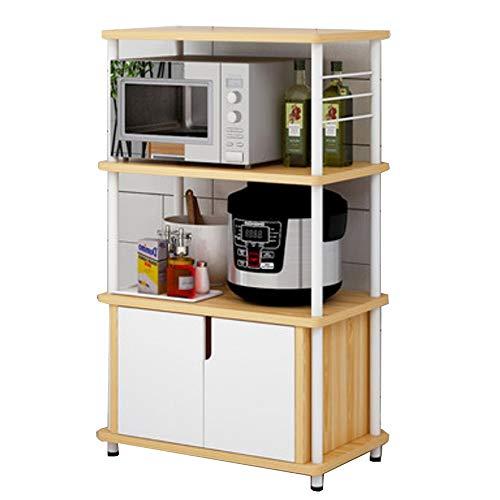 microondas 60x36 fabricante Estante de almacenamiento de cocina
