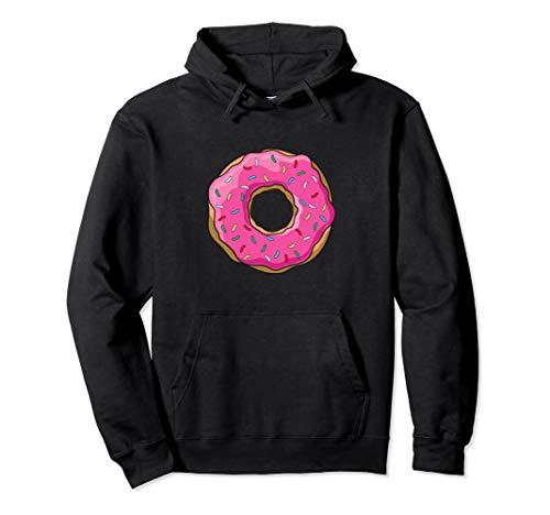 Big Pink Sprinkle Donut Hoodie Doughnut