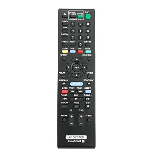 VINABTY RM-ADP069 RMADP069 Control Remoto Reemplazo para Sony AV System BDV-E380 BDV-E580...