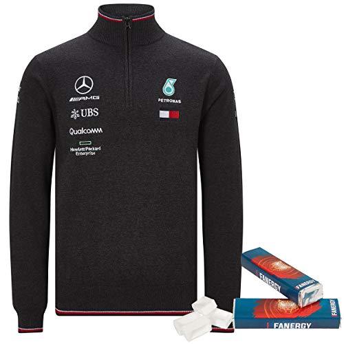 Mercedes AMG Team Stricktroyer 2019 grau + 2X FANERGY Traubenzucker (XXL)