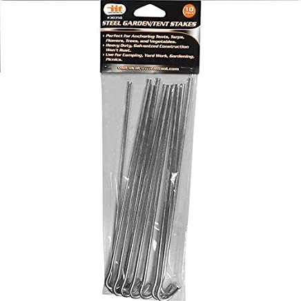 Amazon.com  Heavy Duty - Tent Stakes   Tent Accessories  Sports ... c2f7a933222