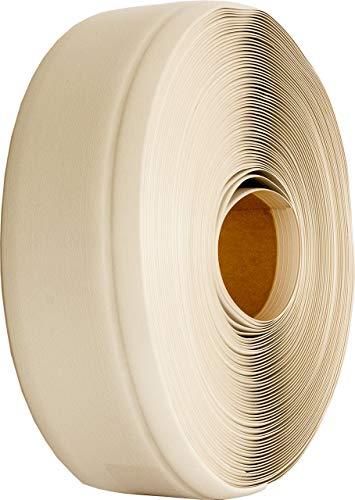 Weichsockelleiste selbstklebend weiß 25m, Winkelleiste, Sockelleiste, MS004