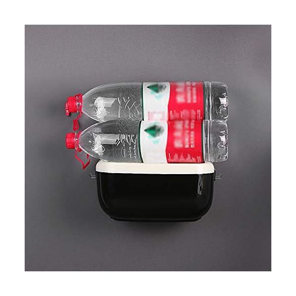 Galapara Dispensador de Toallas de Papel Manual, Montado a Pared Sin punzonado