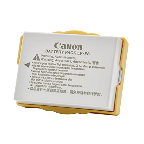 Replacement LP-E8 Battery for Canon EOS Rebel T3i, T2i, T4i, T5i, EOS...