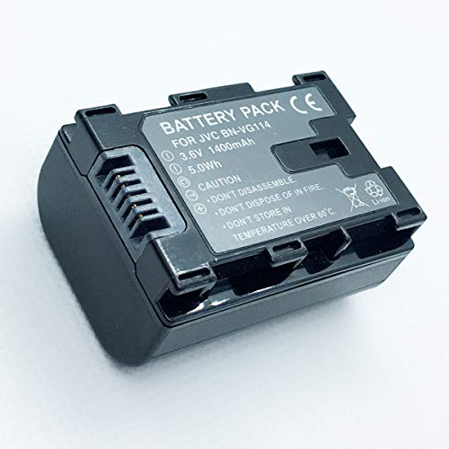 Rechargeable Battery Pack for JVC Everio GZ-HM35BU, GZ-HM40BU, GZ-HM65BU HD Flash Memory Camcorder