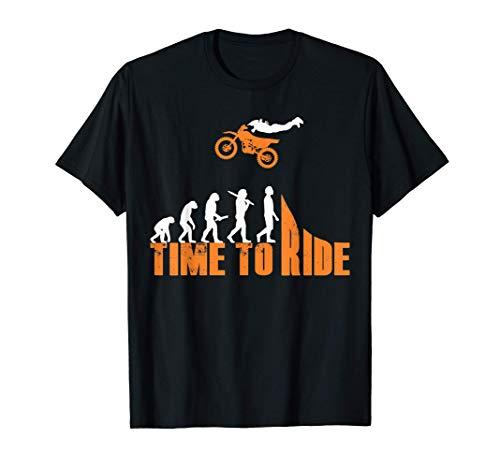 Ropa de motocross Enduro, regalo de Time to Ride Camiseta