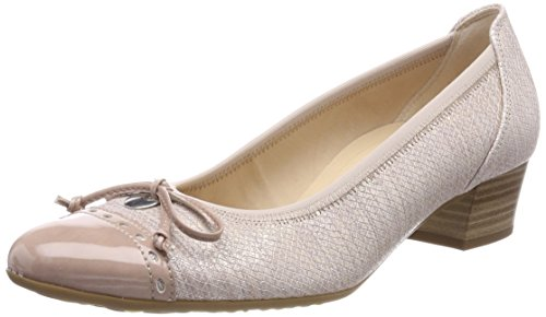 Gabor Shoes Damen Comfort Fashion Pumps, Mehrfarbig (Skin/Antikrosa), 38 EU