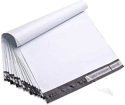 NORDMANN® 100 x Stabile Reißfeste Folienversandtaschen Versandbeutel Blickdicht Selbstklebend Versandtüten Versandtaschen Wasserdicht (33 x 48 cm)