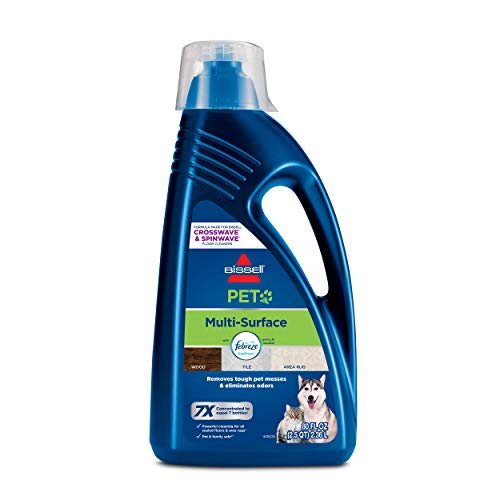 BISSELL Multi-Surface Pet Formula with Febreze Feshness for Crosswave and Spinwave (80 oz), 2295L