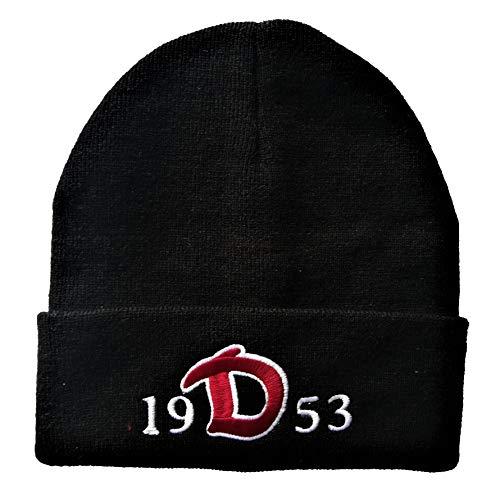 Generisch Dresden Mütze (schwarz), Beanie, Wintermütze schwarz