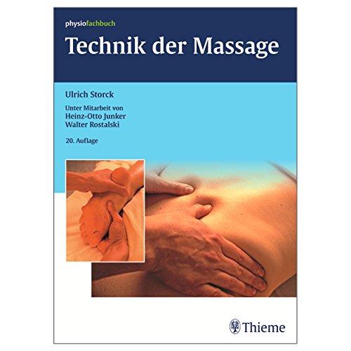 """Buch \""""\""""Technik der Massage\""""\"""" Massage Lernen Massieren Lernen Physiotherapie 196 S."""