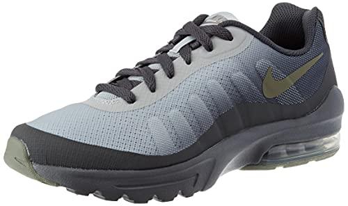 Nike Air MAX Invigor GS, Sneaker, Iron Grey/Volt-Grey Fog-White, 37.5 EU