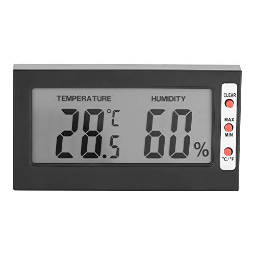 Draagbare digitale LCD-thermometer Hygrometer Temperatuurbevochtiger Meter 0~50 ℃ 10% RH ~ 99% RH