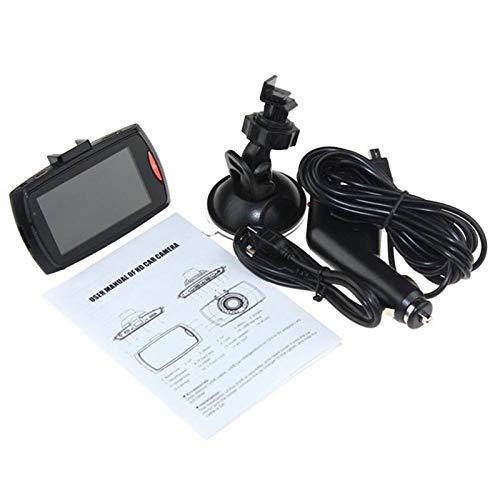 Ymxcwer85851 G30 2.4 Pulgadas DVR para automóvil Cámara de 90 Grados Grabadora de Video Cámara de Tablero [Negro]