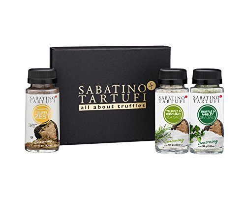 Sabatino Tartufi All About Truffles Seasoning Collection
