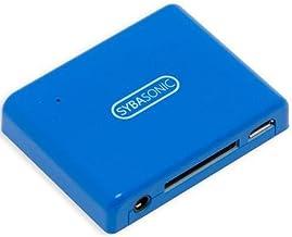 SYBA SD-ADA23054 30pin Analog Audio Speaker Dock Bluetooth Music Receiver - BLUE photo