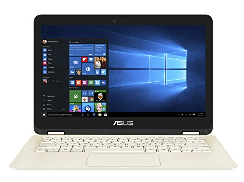Asus UX360CA-C4171T ZenBook Flip Notebook, LCD 13,3' Full HD, Touchscreen, Processore Intel M3-7Y30, RAM 4 GB, SSD 256...