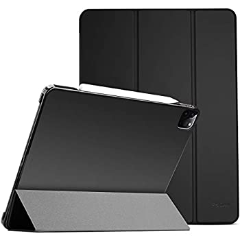 ProCase iPad Pro 11 Case 2020 2018 Slim Hard Shell Protective Stand Cover for iPad Pro 11 2nd Gen 2020 1st Gen 2018 -Black
