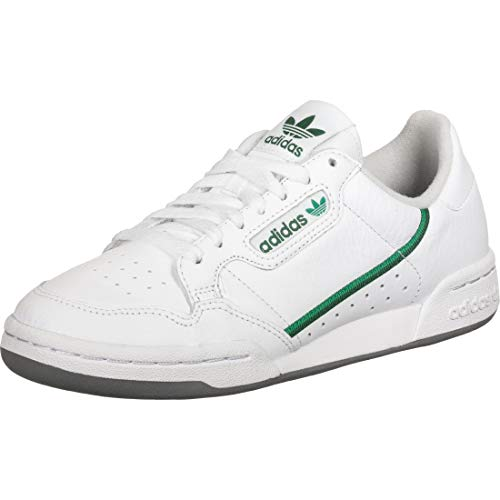 ADIDAS ORIGINALS CONTINENTAL 80 Sneakers hommes Wit/Groen - 46 2/3 - Lage sneakers