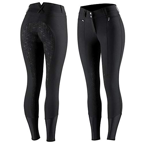 Product Image 1: HORZE Women's Angelina Full Seat Breeches – Silicone Grip