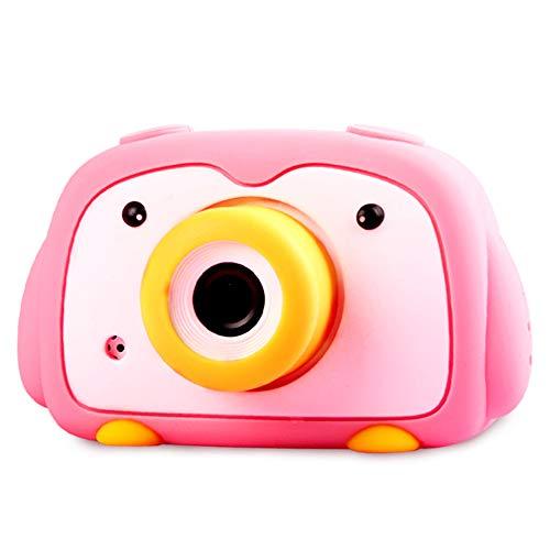 Artenjoyfine Digital Camera for Girls as Birthday Gift with Silicone Case 2 Inch IPS Screen Kids Camera for Boys Best Camera for Kids 8-10