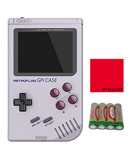 [正規品] RETROFLAG レトロフラッグ レトロゲーム風ラズベリーパイケース GPi Case Raspberry Pi Zero Raspberry Pi Zero W [クロス/単三電池*4付] (GPiケース)